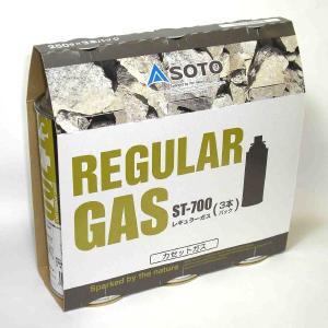 SOTO レギュラーガス3本パックST-7001|shinfuji