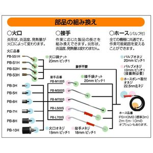 プロパンバーナー用火口5号 shinfuji 03