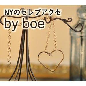 バイボー ブレスレット ゴールド ハート By boe