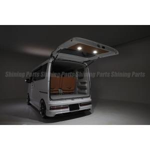 「全3色」エブリイワゴン(DA17W)/エブリイバン(DA17V) LEDトランクランプ付バックドアトリムボード|shiningparts|04