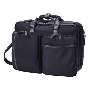 手提げバッグ・リュックサック・ショルダー付バッグとして使える便利な3WAYビジネスバッグ。B4サイズ...