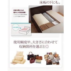 bed 木製 国産 収納 日本製 Fu-ton 大容量 棚付き スリム ベッド ベット 宮付き BOX構造 組立設置 ふーとん 大量収納 布団収納 シングル 小物収納 収納ベッド|shiningstore-life|13