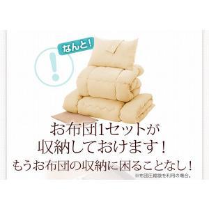 bed 木製 国産 収納 スリム ダブル ベッド ベット 棚付き 日本製 Fu-ton 大容量 引出し 宮付き BOX構造 ダブル3 組立設置 ふーとん シングル 大量収納|shiningstore-life|06