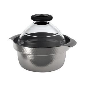 ステンレスとアルミの4層構造の鍋身は熱をまんべんなく伝え、ご飯をおいしく炊き上げます。内面にはフッ素...