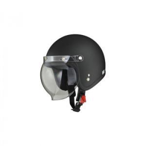 リード工業 LEAD MOUSSE ジェットヘルメット ハーフマットブラック フリーサイズの商品画像|ナビ