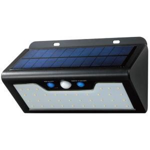ELPA(エルパ) 屋外用 LEDセンサーウォールライト ソーラー発電式 電球色 ESL-K411S...