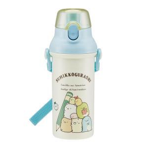 pos.441745 すみっコぐらし おべんきょう 食洗機対応 直飲みプラワンタッチボトル PSB5SAN|shiningstore
