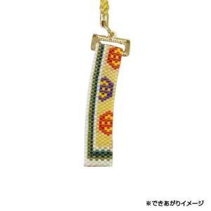 雅な十二単をペヨーテステッチで表現。向蝶の丸紋に襲ねの色目が美しい一品です。 生産国:日本 商品サイ...