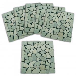 雑草が生えないオシャレな天然石マット6枚組の関連商品8