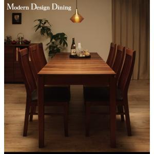 モダンデザインダイニング Silta シルタ 5点セット(テーブル+チェア4脚) W120-180|shiningstore|02