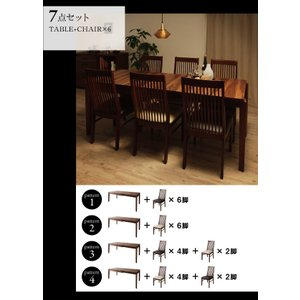 モダンデザインダイニング Silta シルタ 5点セット(テーブル+チェア4脚) W120-180|shiningstore|16