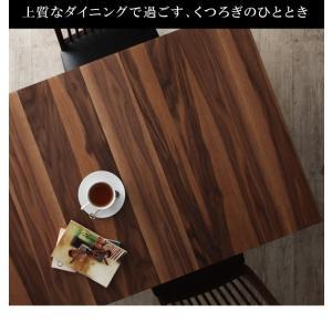 モダンデザインダイニング Silta シルタ 5点セット(テーブル+チェア4脚) W120-180|shiningstore|03