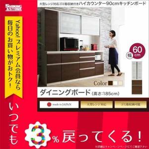 開梱サービスなし 大型レンジ対応 ハイカウンター90cmキッチンボード OLEGANO オレガノ ダ...