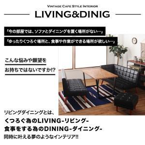 古木風 ヴィンテージ カフェスタイル リビングダイニング TOLD トルド ダイニングテーブル W120|shiningstore|04