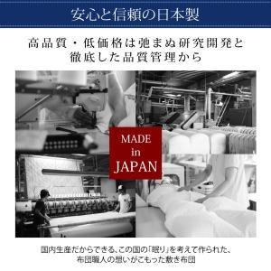 ダブル 日本製 テイジン V-Lap使用 高弾力敷布団 ダブル敬老の日 体圧分散で腰にやさしい 朝の目覚めを考えた超軽量 500029211|shiningstore|14