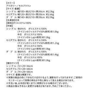 ダブル 日本製 テイジン V-Lap使用 高弾力敷布団 ダブル敬老の日 体圧分散で腰にやさしい 朝の目覚めを考えた超軽量 500029211|shiningstore|17