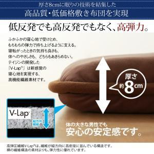 ダブル 日本製 テイジン V-Lap使用 高弾力敷布団 ダブル敬老の日 体圧分散で腰にやさしい 朝の目覚めを考えた超軽量 500029211|shiningstore|05