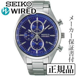 62eb4217be SEIKO セイコー ワイアード WIRED NEW STANDARD MODEL ニュースタンダードモデル 男性用 クオーツ 多針アナログ 腕時計  正規品 1年保証書付 AGAV110