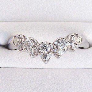 指輪ダイヤモンド リング PT900 プラチナ 指輪 プレゼント ジュエリー|shinjunomori