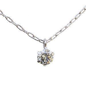 ダイヤモンドネックレス ダイヤモンドペンダント 一粒 プラチナ|shinjunomori