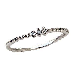 ダイヤモンドリング スリーストーン ダイヤモンド 指輪 プラチナ PT900 スリーストーンリング 0.03ct|shinjunomori