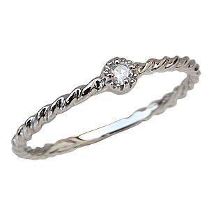 ダイヤモンドリング 一粒石 プラチナ PT900 ダイヤモンド マリッジリング 指輪 シンプル|shinjunomori
