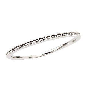 リング マリッジリング K18ホワイトゴールド 結婚指輪|shinjunomori