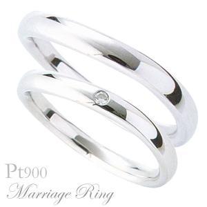 マリッジリング 結婚指輪 高品質 ペア2個セット ダイヤモンド PT900 プラチナ 2ads|shinjunomori