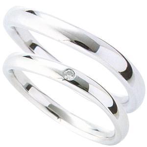 マリッジリング 結婚指輪 高品質 ペア2個セット ダイヤモンド PT900 プラチナ 2ads|shinjunomori|02
