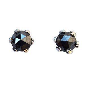 メンズ ピアス ブラックダイヤモンド 0.20ct PT900 プラチナ|shinjunomori