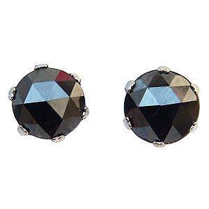 メンズ ピアス ブラックダイヤモンド 0.70ct PT900 プラチナ|shinjunomori
