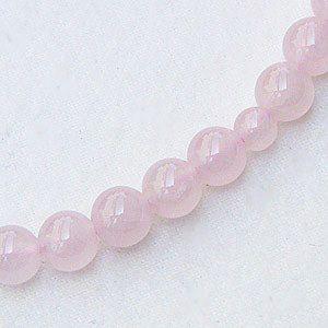 紅水晶 ローズクォーツ 念珠 数珠 7m 丸玉 房ピンク色 念珠ケース付き 女性用|shinjunomori|04