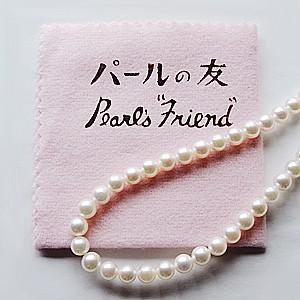 パールクロス パール磨き布 パール 真珠磨布 真珠指輪 ネックレスのお手入れ 真珠の艶出し パールの友 ネコポス送料無料|shinjunomori|03