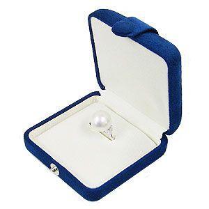 パールリングケース パールキーパー 真珠指輪 ケース 紺 真珠科学研究所が開発監修|shinjunomori