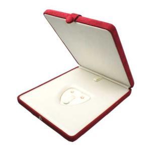 真珠 ネックレス ピアスまたはイヤリング 指輪ケース 赤 パールキーパー 真珠科学研究所が開発監修|shinjunomori