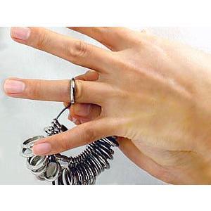 リングゲージ 国産 指のサイズを測る 1号から30号まで計測可能 プロ仕様 明工舎製 あすつく|shinjunomori|03