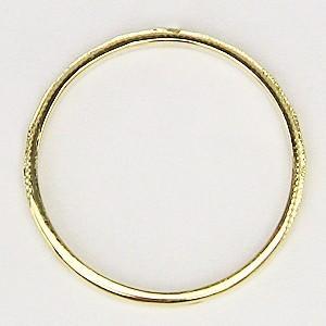 ペアリング プレゼント 結婚指輪 マリッジリング 記念日 シンプル デザインカットリング 指輪 K18 ゴールド 地金リング|shinjunomori|05