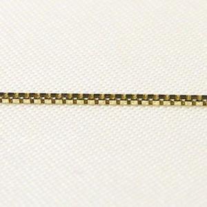 チェーン K18ゴールド ライトベネチアン0.7mmチェーン 45cm スライド式|shinjunomori