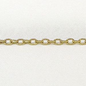 チェーン K18 ゴールド コルダアズキ0.5mmチェーン 45cm スライド式|shinjunomori
