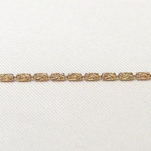 チェーン K18ピンクゴールド シリンダーカット1.2mmチェーン 45cm スライド式|shinjunomori