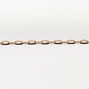 チェーン K18ピンクゴールド 0.4mmラディアントアズキチェーン 45cmスライド式|shinjunomori
