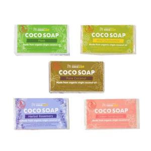 ココウェル ココソープ (95g) 〜オーガニックバージンココナッツオイルの洗顔ソープ〜|shinken-club