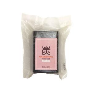炭なでしこ (90g) 〜ローズの香りが入った竹炭せっけん〜|shinken-club