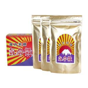 活力天然 気合散 甘口(辛さひかえめ) (150g×3袋)|shinken-club