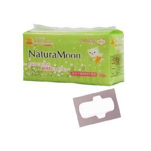 Natura Moon 「ナチュラムーン 生理用ナプキン 多い日の昼用 羽つき (23.5cm) 16個入り」 〜トップシートに天然コットン100%使用!〜|shinken-club