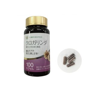 HONMONO 黒ガリンガル加工食品 「クロガリンダ (100粒)」 〜糖化ケアで若さと美しさを!〜|shinken-club