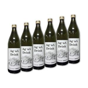 Ag・uA Drink (アグアドリンク) 酵素微泡飲料水 (900ml×6本) 〜テネモス商品〜|shinken-club