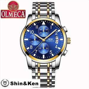 わけあり セール 腕時計 メンズ ウォッチ レディース 時計 人気 ブランド 電池時計 OLMECA...