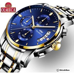 【2月中旬頃発送予定】 わけあり セール 腕時計 メンズ ウォッチ レディース 時計 人気 ブランド OLMECA mtk03