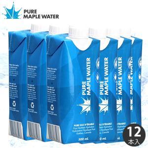 20%OFF カナダ産 メープルウォーター 500ml 1ケース 12本 新杵堂 pure maple water お取り寄せ オーガニック ドリンク 飲料 ギフト お土産|shinkinedo